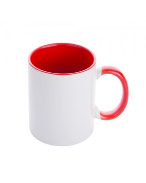 Red sublimation 11oz Mug