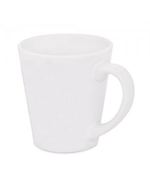 Sublimation white latte mug