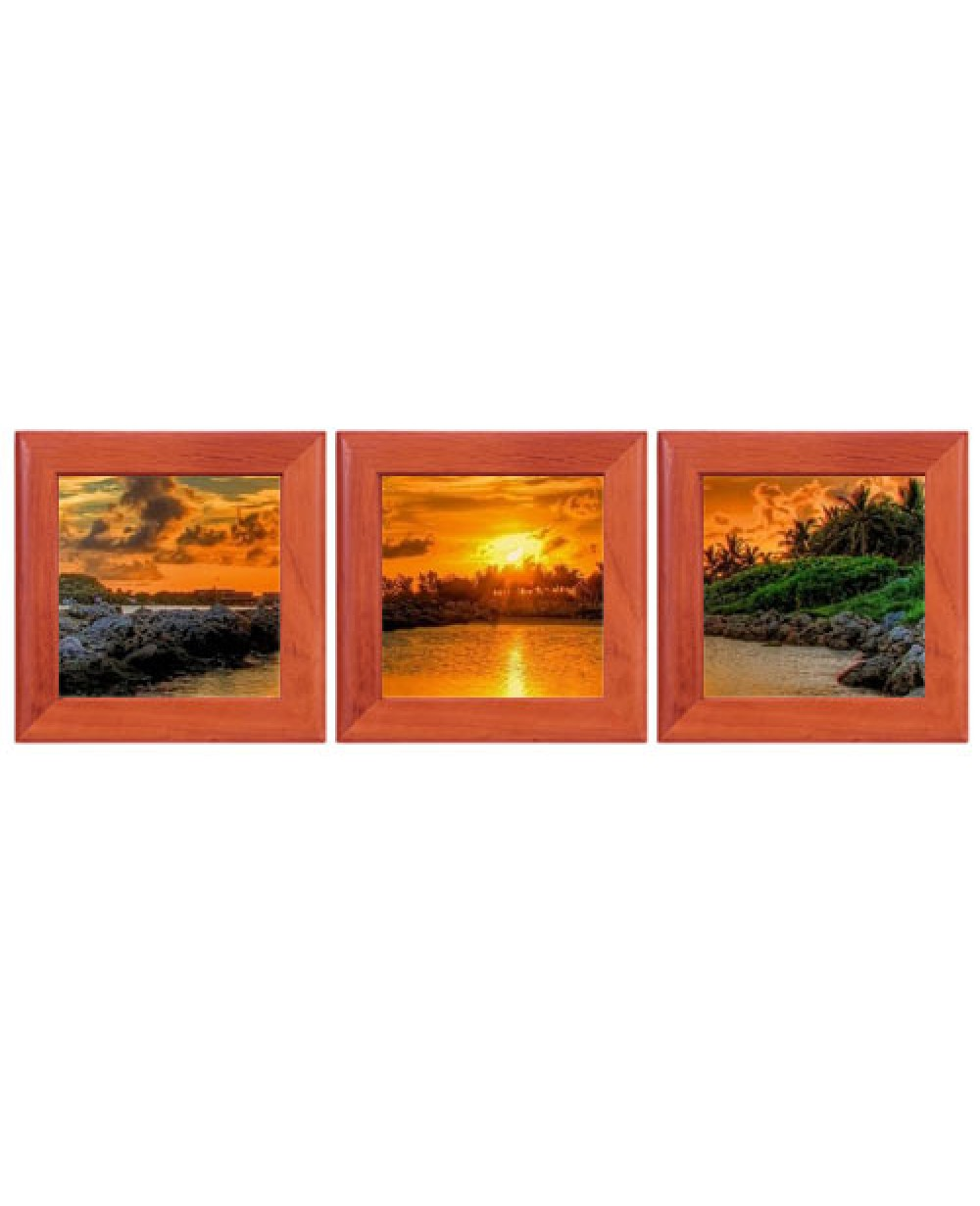 3 Sublimation Photo Frames And Glossy Tile Set