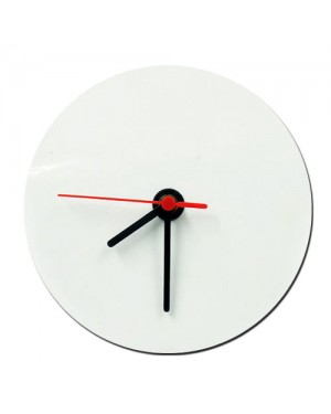 30cm MDF Photo Clock for Sublimation Printing