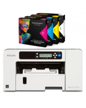 Sublisplash and A4 Ricoh printer SG3110DN