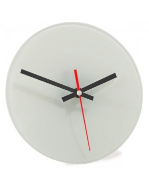 30cm Glass Photo Clock for Sublimation Printing