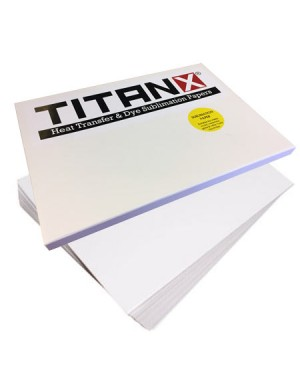 100 Sublimation Paper Sheets Titanx