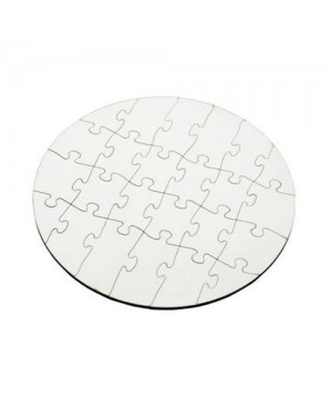 Sublimation Round Shape Jigsaw Puzzle