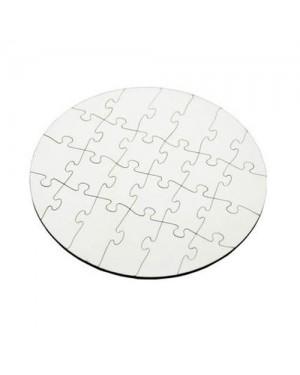 Sublimation Round Shape Jigsaw Puzzle