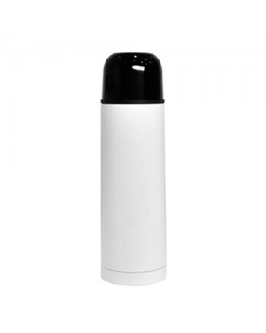 500ml Sublimation White Thermos Flask