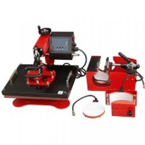 Swing heat press machine