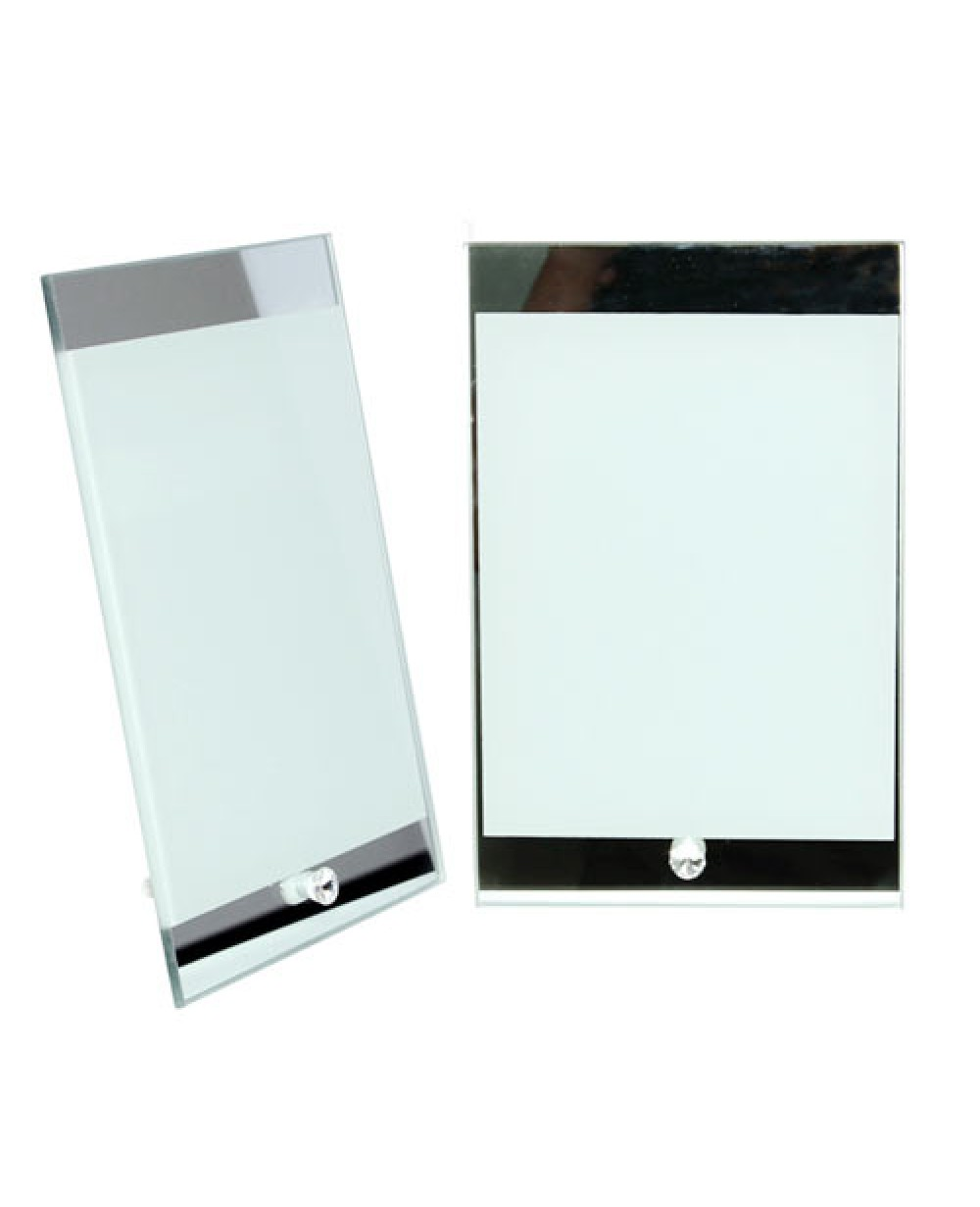 Sublimation Mirror Glass Frame, Press Photo Frame Blank