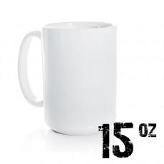 15oz White Photo Mug Sublimation