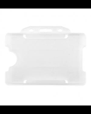 Plastic ID Badge Holder for Lanyard