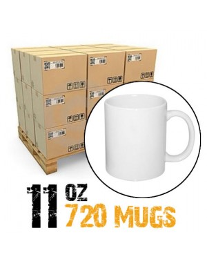 11oz White Photo 720 Mugs Sublimation