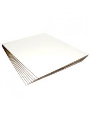 Metal Sublimation Sheet - Gloss Finish - 10cm x 10cm