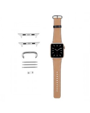 Accessories - Sublimation Wrist Strap for 38MM Apple Watch - Brown