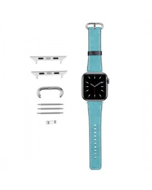 Accessories - Sublimation Wrist Strap for 38MM Apple Watch - Aqua Green