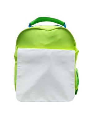 Bags - Neon Backpacks with Flap - Green and Blue Hi Vis