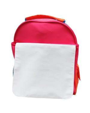 Bags - Neon Backpacks with Flap - Orange and Pink Hi Vis