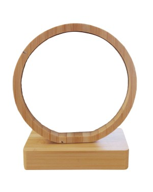 Photo Frame - Bamboo/ MDF - Revolving Magnetic Frame - Circle