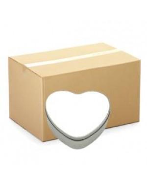 Heart Tins - CARTON (36 pcs) - With Printable Insert