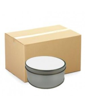 Round Tins - CARTON (50 pcs) - With Printable Insert
