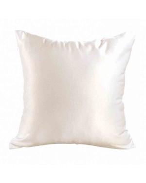 Cushion Cover - CREAM Satin Finish - 40cm x 40cm - Square