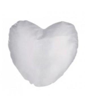 Cushion Cover - Glitter - Silver - 40cm x 40cm - Heart