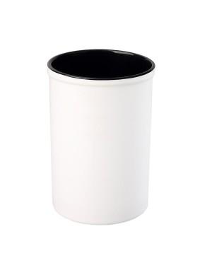 Pen Pots - Ceramic - 15oz Pencil Holder - Black