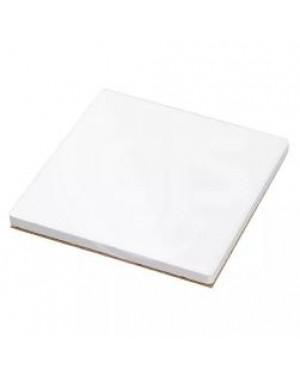 Coaster - 4 x MATT - Ceramic - Square - 10cm - Cork Base