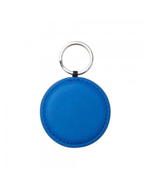 Engravables - LEATHER - Ornament - ROUND - 5cm - Navy