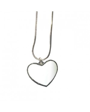 Dog Tag - Heart Shaped with Insert