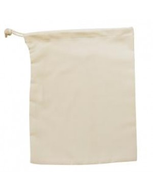 Drawstring Bag - Natural Cotton Style - 25cm x 30cm