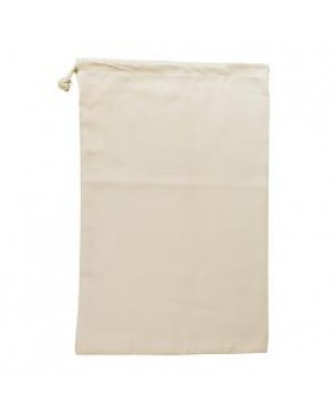 Drawstring Bag - Natural Cotton Style - 30cm x 45cm