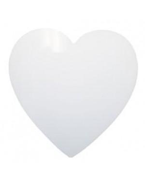 Fridge Magnet - MDF - Heart - 7.5cm
