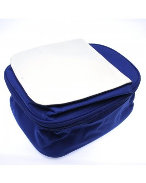 Lunch Bag for Kids with Detachable Flap - Blue