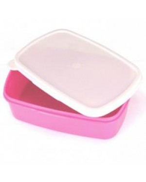 Lunchbox - Plastic - Small - Pink