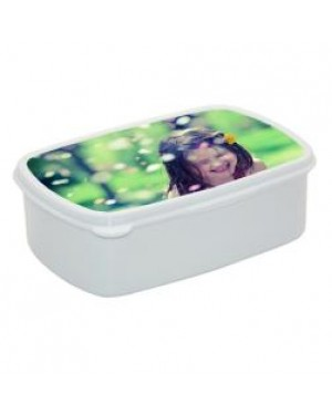 Lunchbox - Plastic - Small - White
