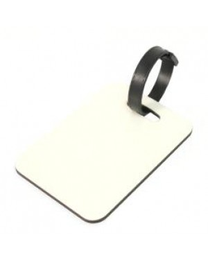 Luggage Tag - MDF - Rectangle - Double-Sided