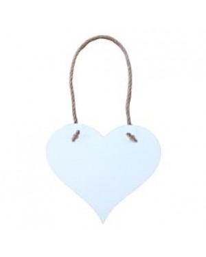 Hanging Sign - MDF - Heart - 18cm x 15.5cm