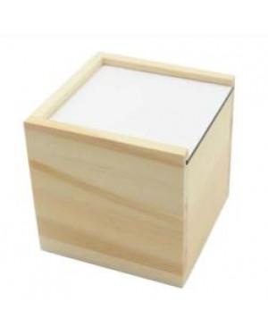 MDF - Cube Storage Box - 10cm x 10cm x 10cm