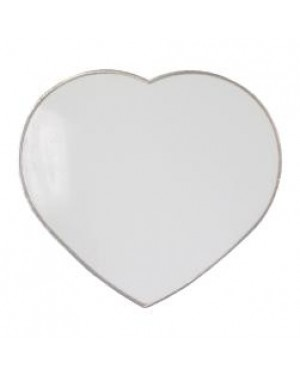 Fridge Magnet - Metal - Heart - 6.5cm x 6cm