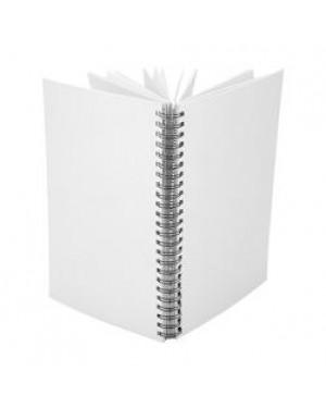 Notebook - A5 Wiro Notebook - Fabric