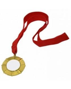 Medal - Ornate Style Award Medal - Gold