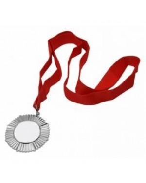 Medal - Ornate Style Award Medal - Silver