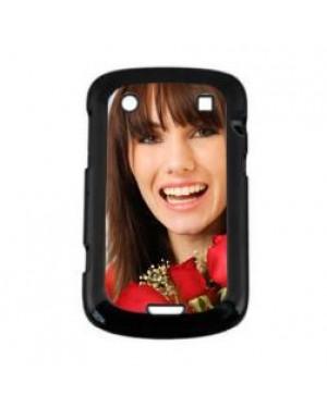 Black Blank Blackberry Bold 9900 Sublimation Phone Case