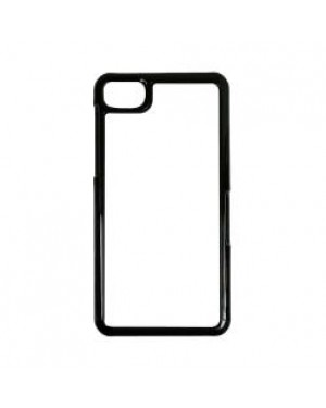 Black Blackberry Z10 Blank Sublimation Phone Case Plastic