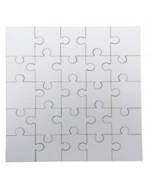 Jigsaw Puzzles - MDF - Square - 24pcs