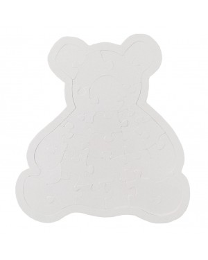 Jigsaw Puzzles - Bear (28 pieces) - Cardboard - Pearl Finish