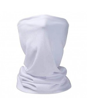 Apparel - Multi Functional Face Scarf - Plain White