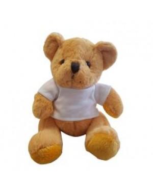 Soft Toys - Teddy Bear with Printable T-Shirt - Gold