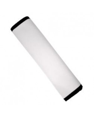 Seat Belt Cover - Neoprene - Black and White- 17cm x 24cm