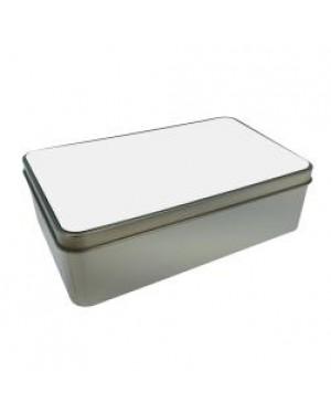 Tins - Metal - Rectangular - With Printable Insert